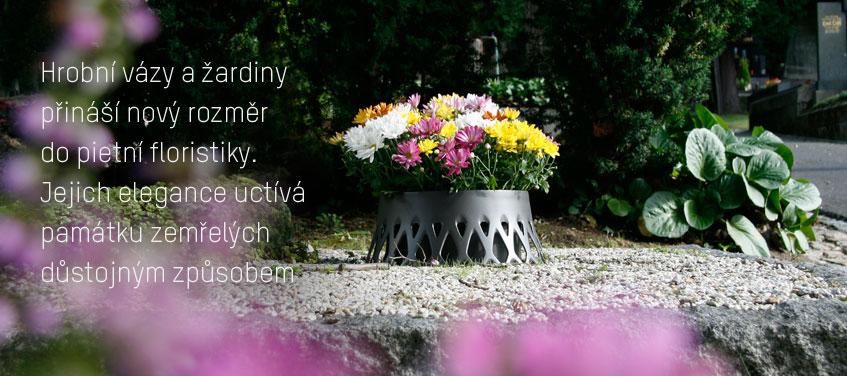 Hřbitovní vázy